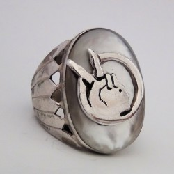Indian Movment Sterlingsilver Ring For Woman