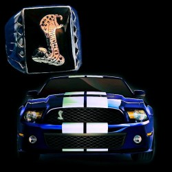 FORD MUSTANG COBRA Sterlingsilver Ring Color Choice