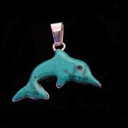 Turquoise Sterlingsilver Pendant