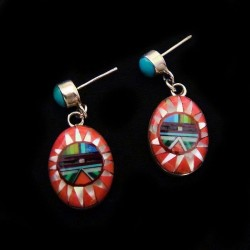 ZUNI SUNGOD EARRINGS