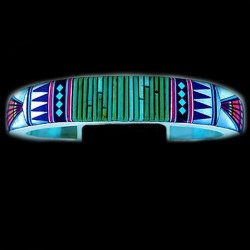 ZUNI MULTICOLOR INLAID BRACELET