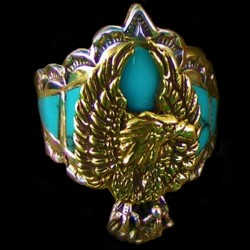 EAGLE STERLINGSILVER RING