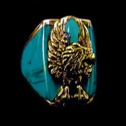 EAGLE STERLINGSILVER RING