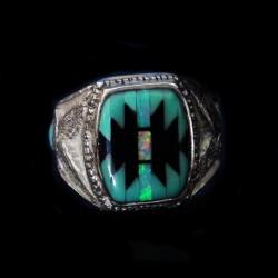 Navajo Symbol Sterlingsilver Ring