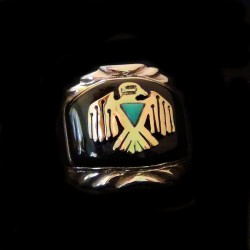 THUNDERBIRD STERLING SILVER RING