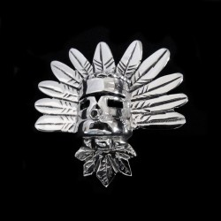 BROCHE KASHINA EN ARGENT