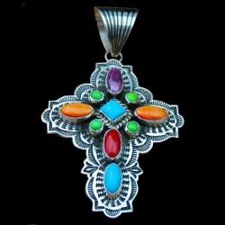 Arrowhead Sterling Silver Pendant Navajo Symbol