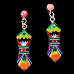 ZUNI SILVER EARRINGS