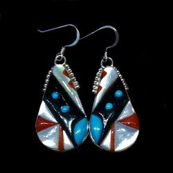 TEARDROP STERLINGSILVER EARRINGS