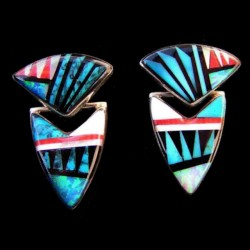 ARROW HEAD SILVER EARRINGS