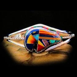 Sacred Bear Navajo Bracelet for Woman