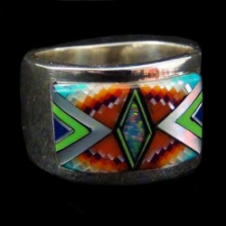 NAVAJO RING NATIVE RING