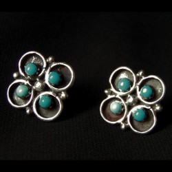 Clover Color Choice Sterlingsilver Earrings